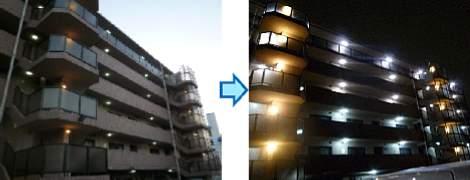 マンション低圧受電 施工事例