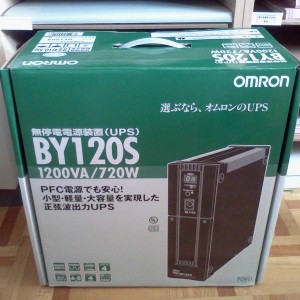 OMRON UPS BY-120S